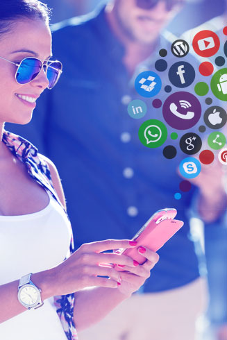 social networking app development