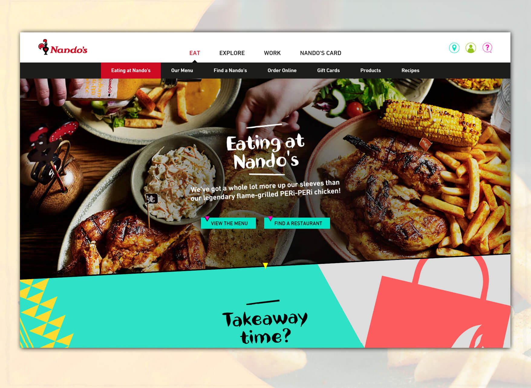 restaurant websites development