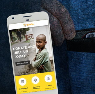 donation app development