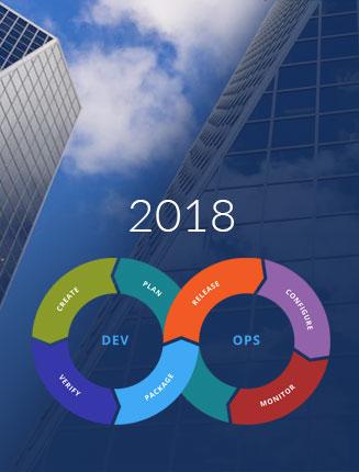 Enterprise app development for using devops