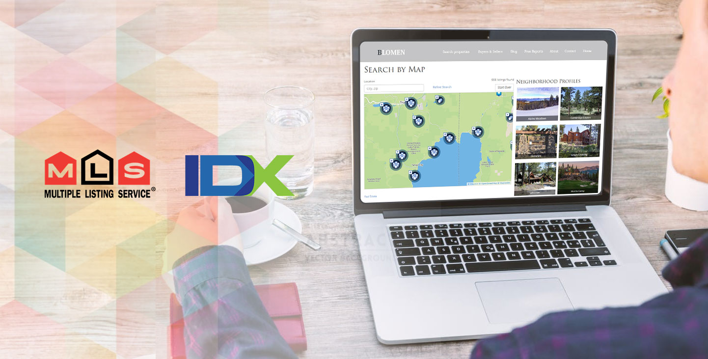 Real Estate MLS & IDX Website Design and Development Services