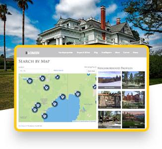 real estate broker website development company