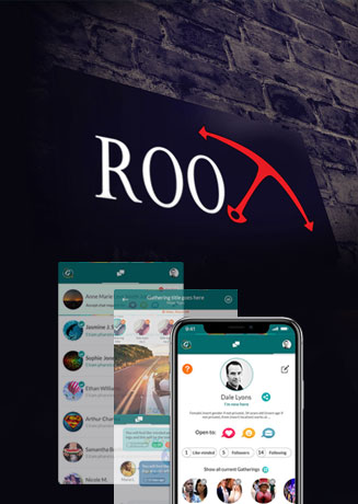 social media app development by root info solutions