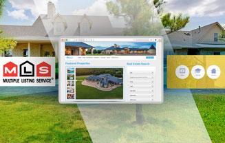 Real estate website design and integration