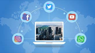 social media app development company