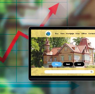 real estate and broker website design