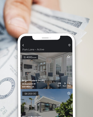 real estate website app