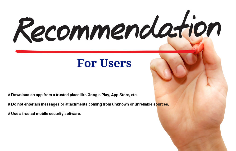 Recommendation for Android Users