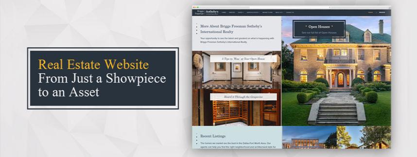 Real estate website development