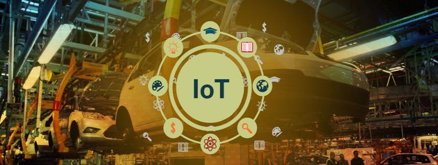 Internet of things application development for Automotive Sector