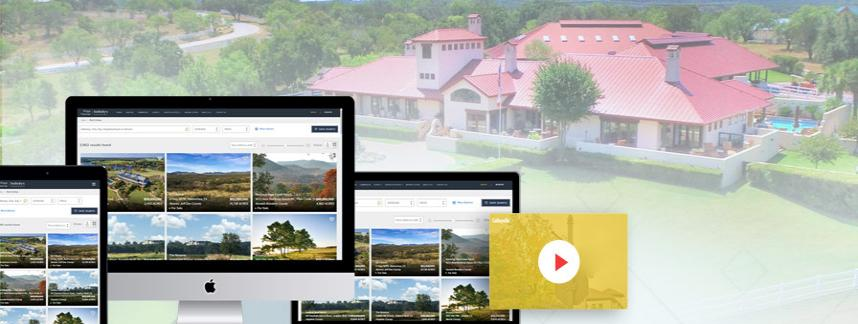 Top real estate website design and development trends