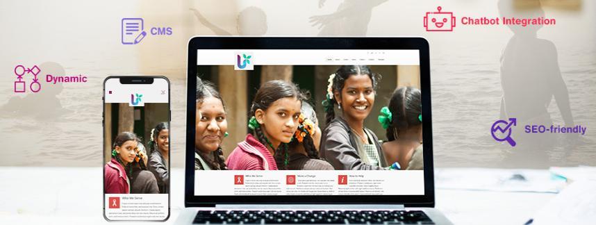 Nonprofits web development solutions