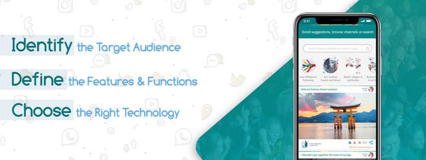soical media app development company