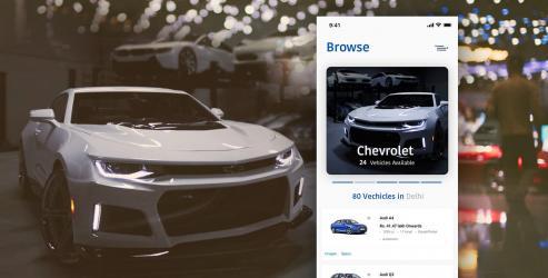 Automotive mobile app