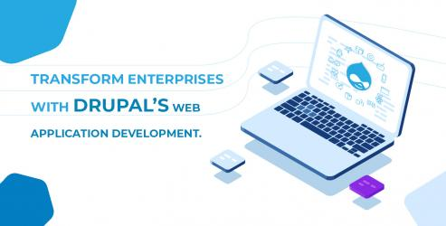Transformation of Enterprise Web Application Development With Drupal