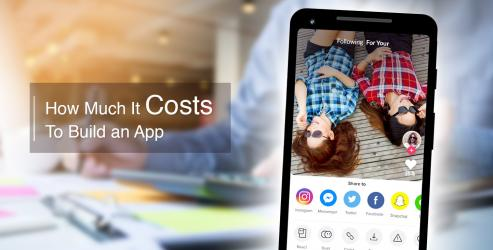 How Much It Costs To Build an App Like Tiktok
