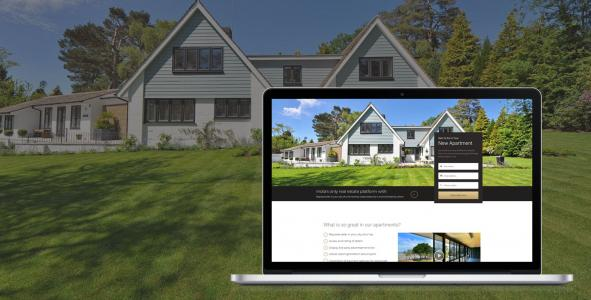 real estate web development company