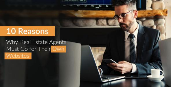 Why Real Estate Agents Must Go for Their Own Websites