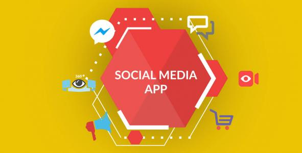 social media app development company